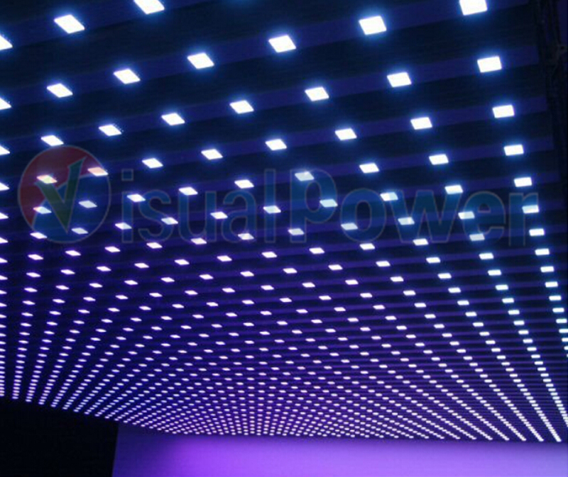 Visualpower square shape DMX pixel LED - DMX LED lights - Visualpower creative led display ...