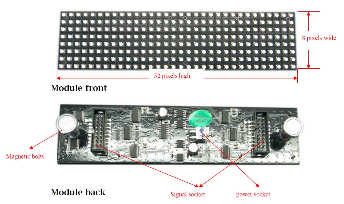 Company News Visualpower Creative Led Display Nightclub Design Circuit Each Narrow Module Has Two Magnet Bolts Which Can Stick To The Back Side Frame This Allows It Do Front Maintenance Especially When There Is Limited