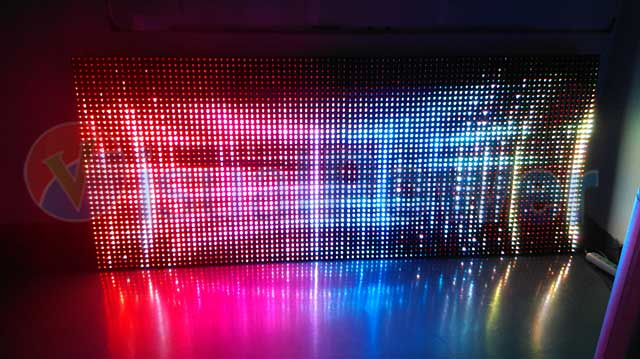 Curtain led display