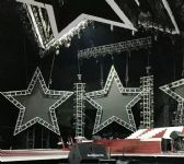 Five star shape LED display/screen